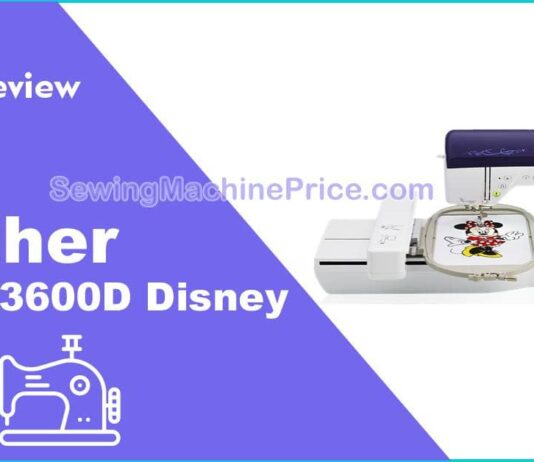 Brother NQ3600D Disney Sewing and Embroidery Machine