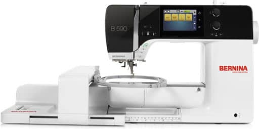 Bernina 590 Sewing, Embroidery and Quilting Machine