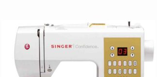 Singer 7469Q Confidence Sewing and Quilting Machine